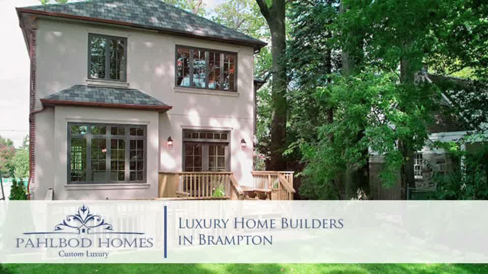 luxury home builders in brampton